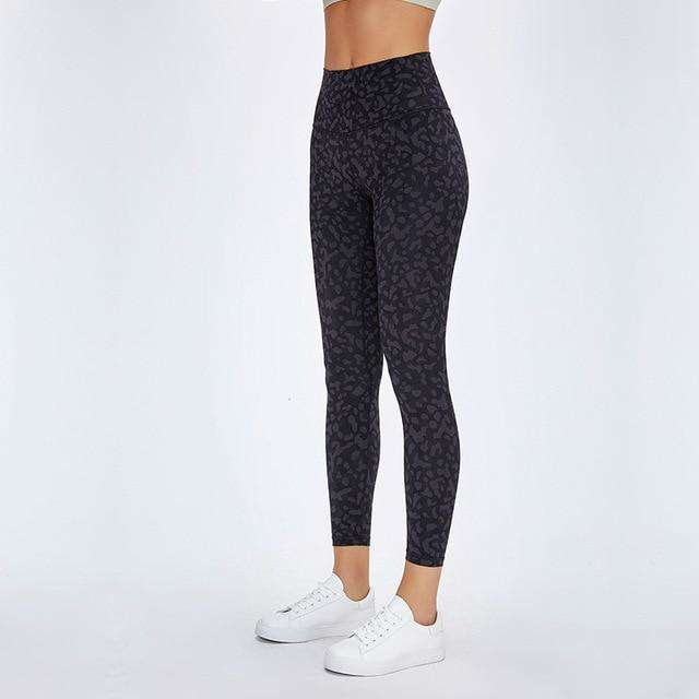MEND BOOST Sports Legging - Black Leopard