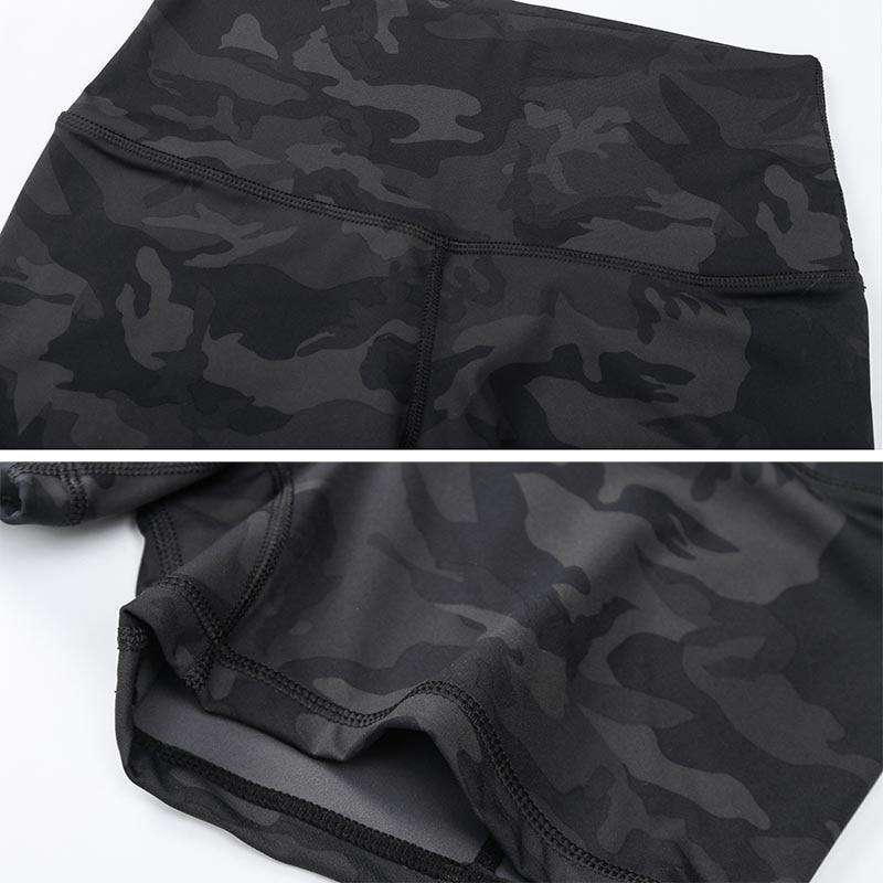 MEND CHARGE Workout Short - Black Camo