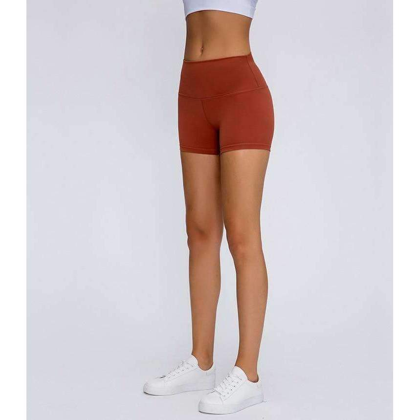 MEND Legacy CHARGE Workout Short - Caramel Red