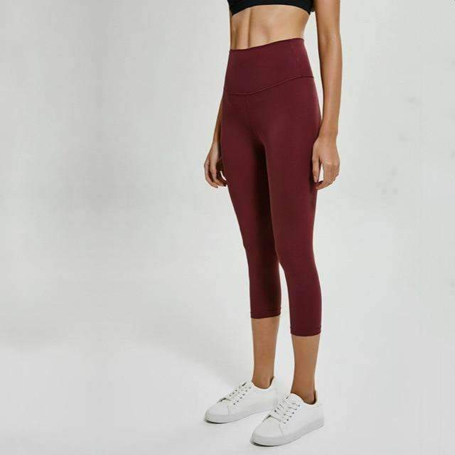 MEND Legacy Max Support 3/4 Legging - Cardinal Red