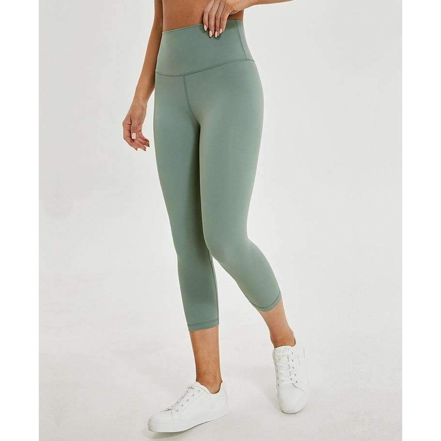 MEND Legacy Max Support 3/4 Legging - Ice Grass Green