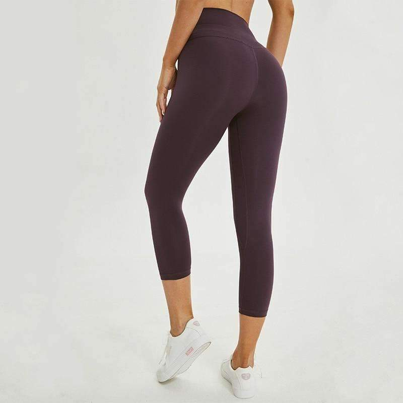 MEND Legacy Max Support 3/4 Legging - Sauce Purple
