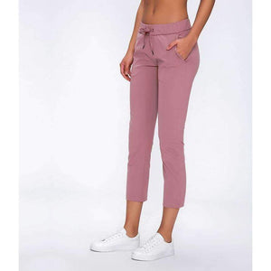 Mend PREMIUM Cropped 3/4 Sports Jogger - Meili Powder
