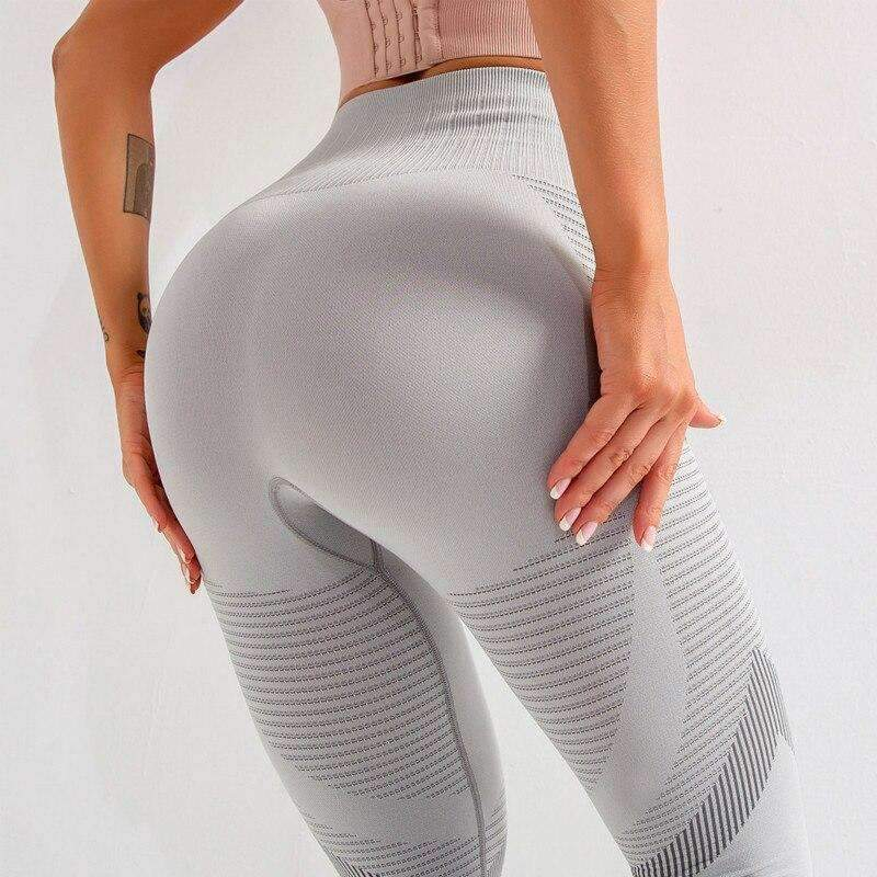 MEND Seamless SPORTY Legging - Gray White