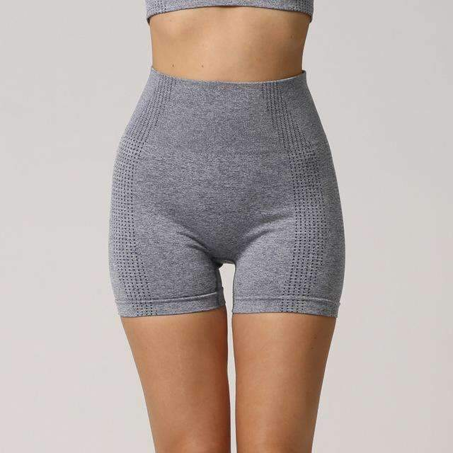 MEND Seamless Velocity Mid-Length Short - Grey
