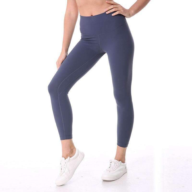 MEND Super Soft Hip Up Legging - Lilac Grey
