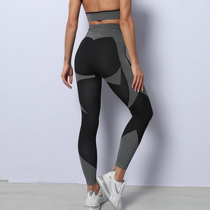 Mend MOMENTUM Full Length Legging - Black/White