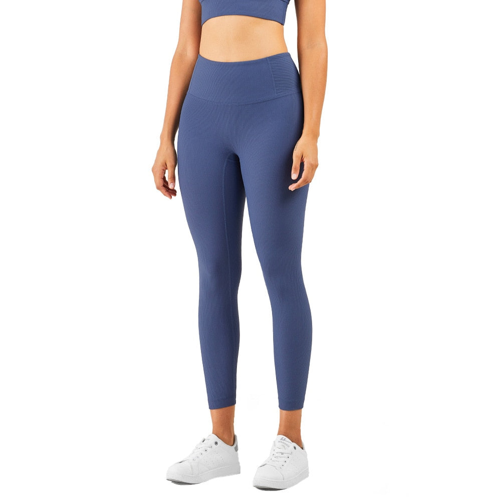 Mend RIBBED Naked Feel Sports Legging - Ink Blue
