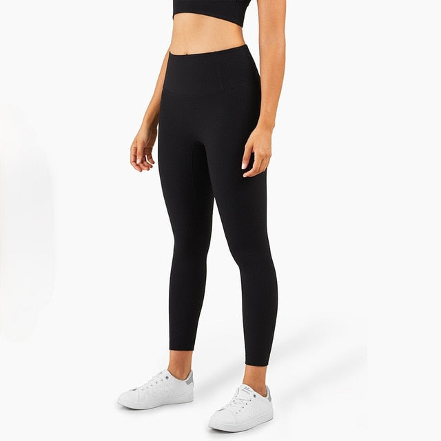 Mend RIBBED Naked Feel Sports Legging - Black
