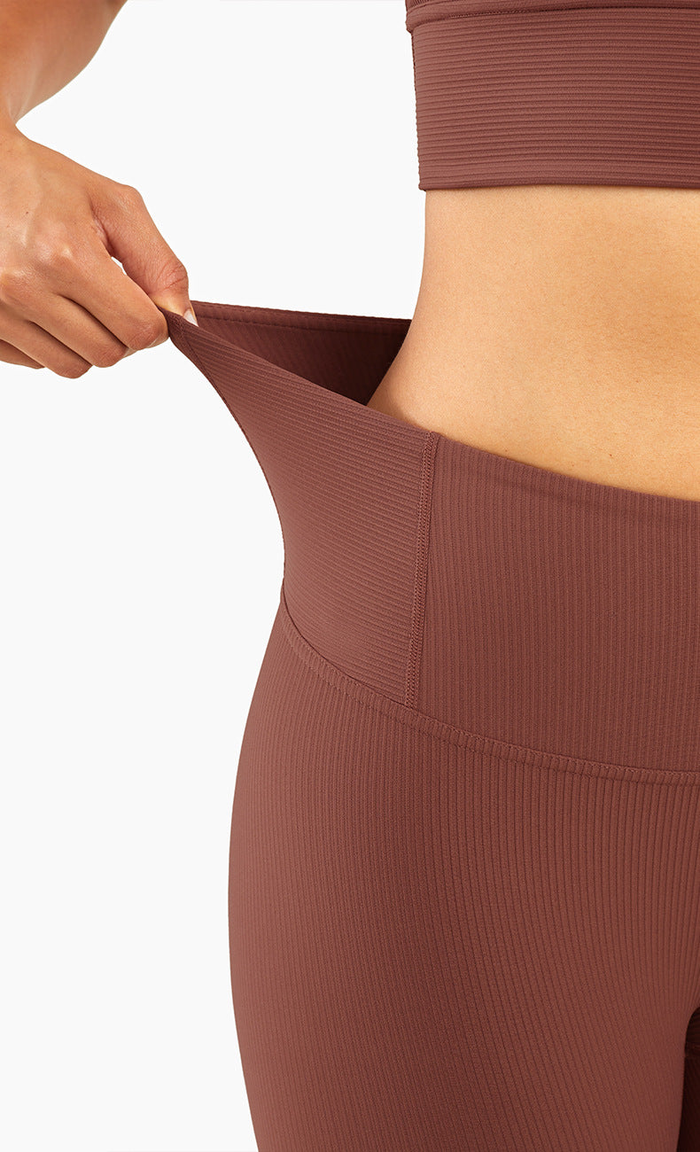 Mend RIBBED Naked Feel Sports Legging - Copper
