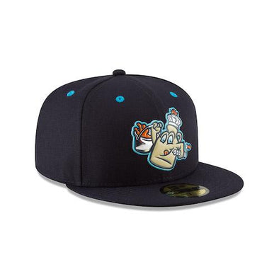 Vermont Lake Monsters Maple Kings On-Field Cap - Liquid Chrome