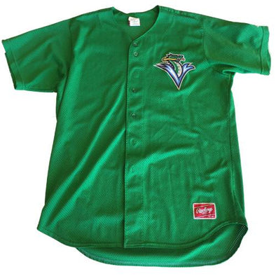 Vermont Lake Monsters 2013 Game Worn BP Jersey