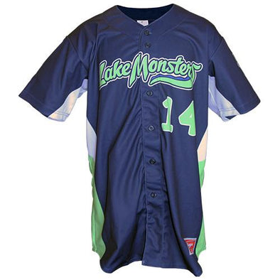 Vermont Lake Monsters 2017 Game Worn Batting Practice Jerseys