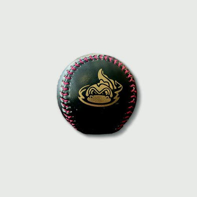 Vermont Lake Monsters Black & Gold Baseball