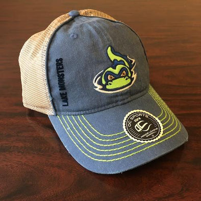 Vermont Lake Monsters Hank Relaxed Fit Cap - OC Sports