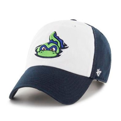 Vermont Lake Monsters Navy & White Fitted Franchise Cap