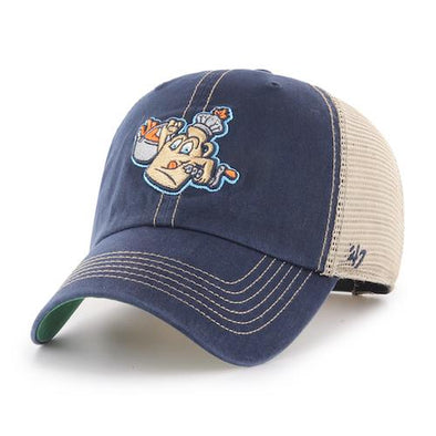 Vermont Lake Monsters Maple Kings Trucker Cap - Vintage Navy