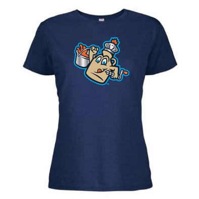 Vermont Lake Monsters Ladies - Maple Kings Primary Logo Tee