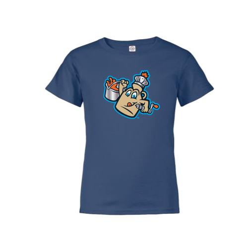 Vermont Lake Monsters Youth - Maple Kings Primary Logo Tee