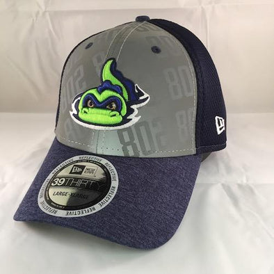 Vermont Lake Monsters NE Code Flect 3930 Stretch Fit - New Era