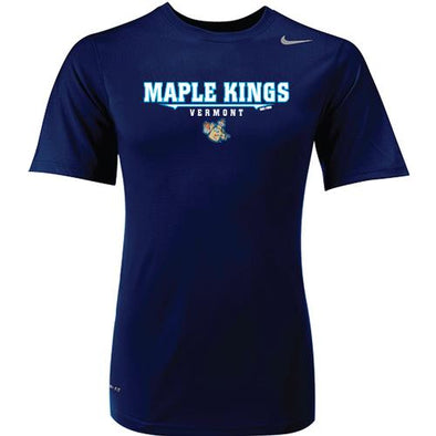 Vermont Lake Monsters Maple Kings Nike Performance Tee