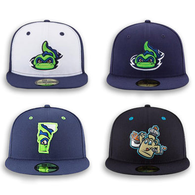Vermont Lake Monsters Ultimate On-Field Cap Collection