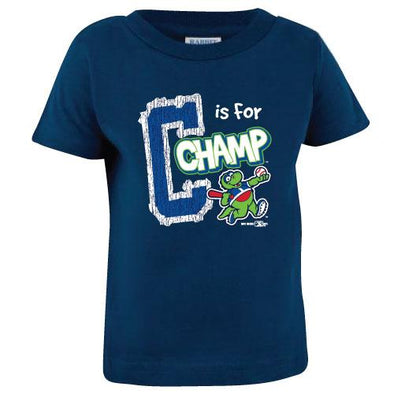 Vermont Lake Monsters Infant - Alphabet Mascot Tee
