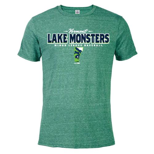 Vermont Lake Monsters Compensation Kelly Heather T-Shirt