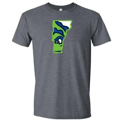 Vermont Lake Monsters Vermont State Logo T-Shirt