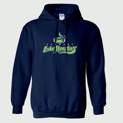 Vermont Lake Monsters Primary Logo Hooded Sweatshirt - Navy