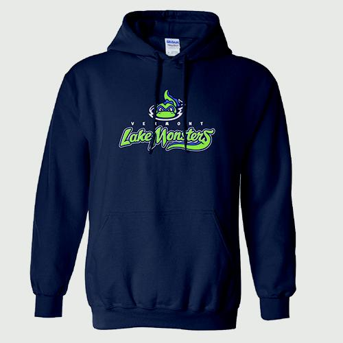Vermont Lake Monsters Youth Primary Logo Hooded Sweatshirt
