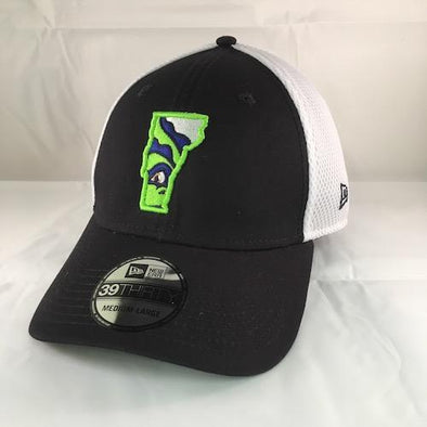 Vermont Lake Monsters Vermont State Logo Stretch Fit - New Era