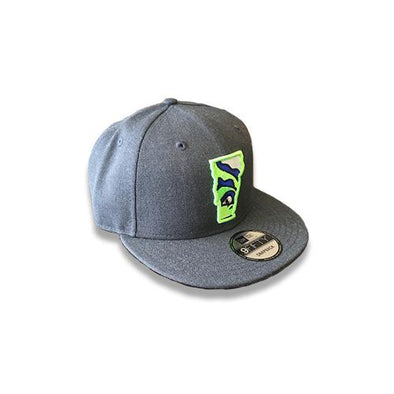 Vermont Lake Monsters Vermont State Logo Snapback