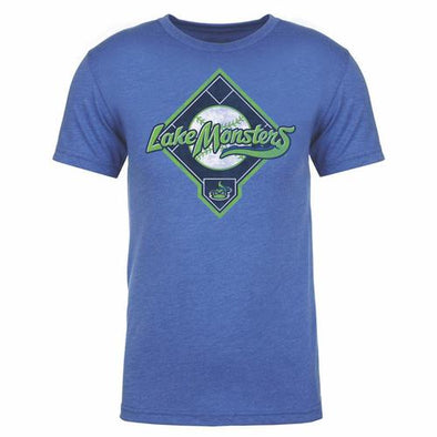 Vermont Lake Monsters Homeplate T-Shirt