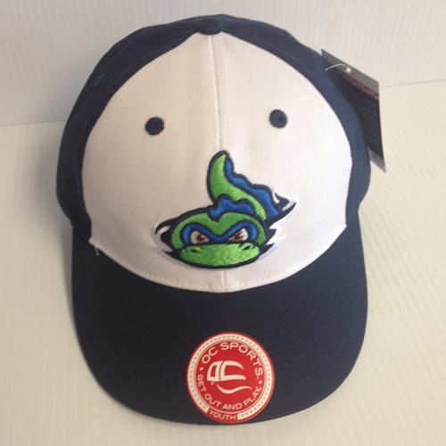 Vermont Lake Monsters Youth Navy & White Replica Game Cap