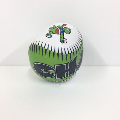 Vermont Lake Monsters CHAMP Neon Soft Toss Baseball