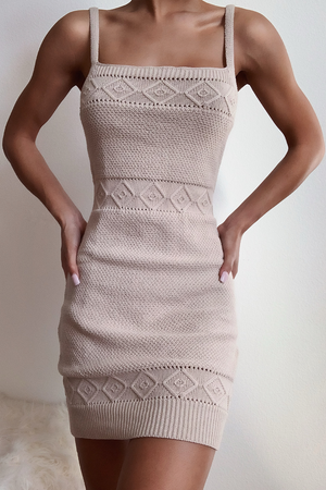 ROSE KNIT DRESS