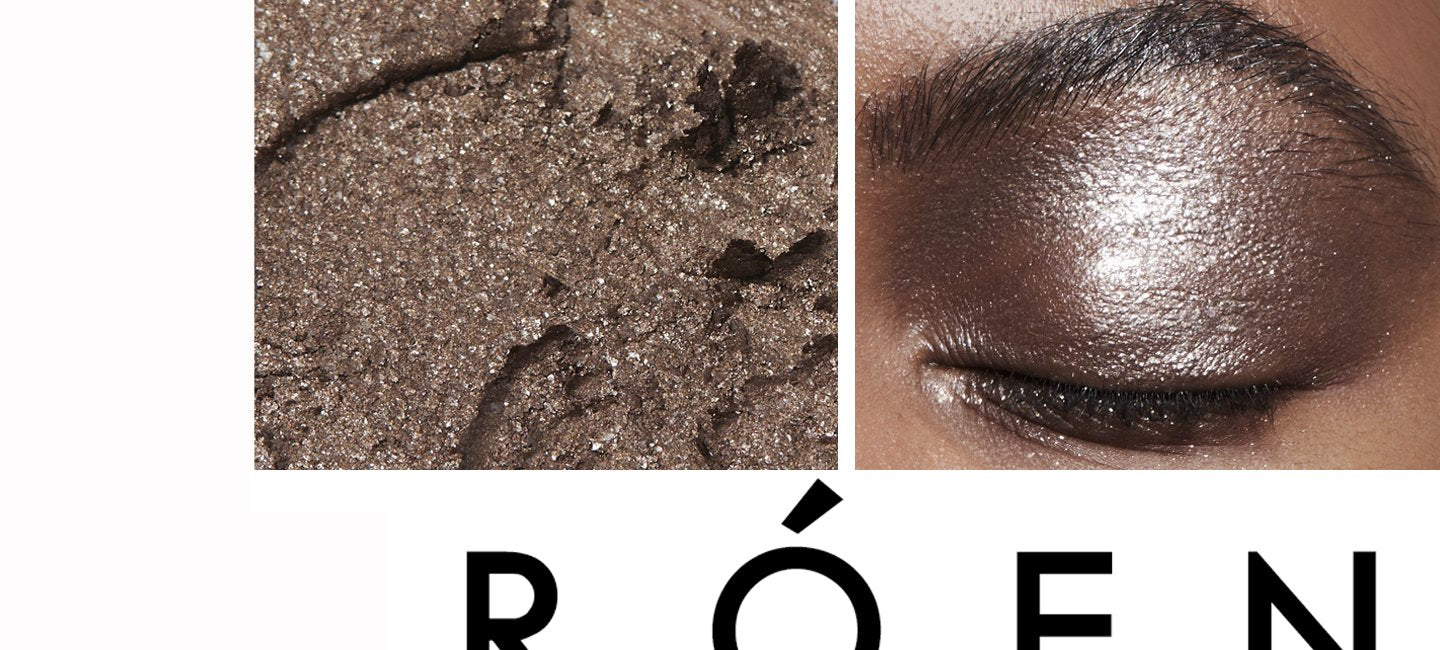 ROEN BEAUTY - Eye Shadow Shades - You put it on, look in the mirror, and just say YEP.  Your favorite taupey-grey.