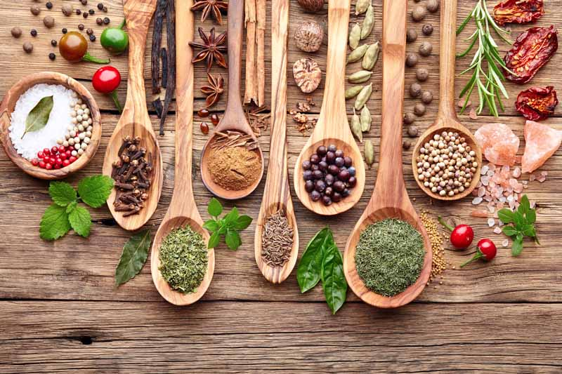 Herbs and Spices, Not Just a Seasoning