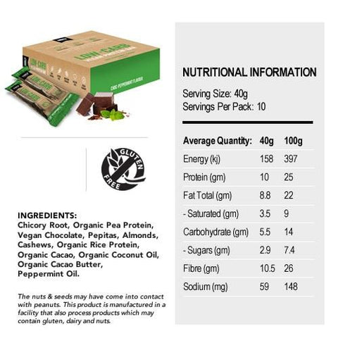 180 Nutrition Low-Carb Vegan Protein Bar-Health Foods - Protein Bars-180 NUTRITION-Thrive Health and Nutrition