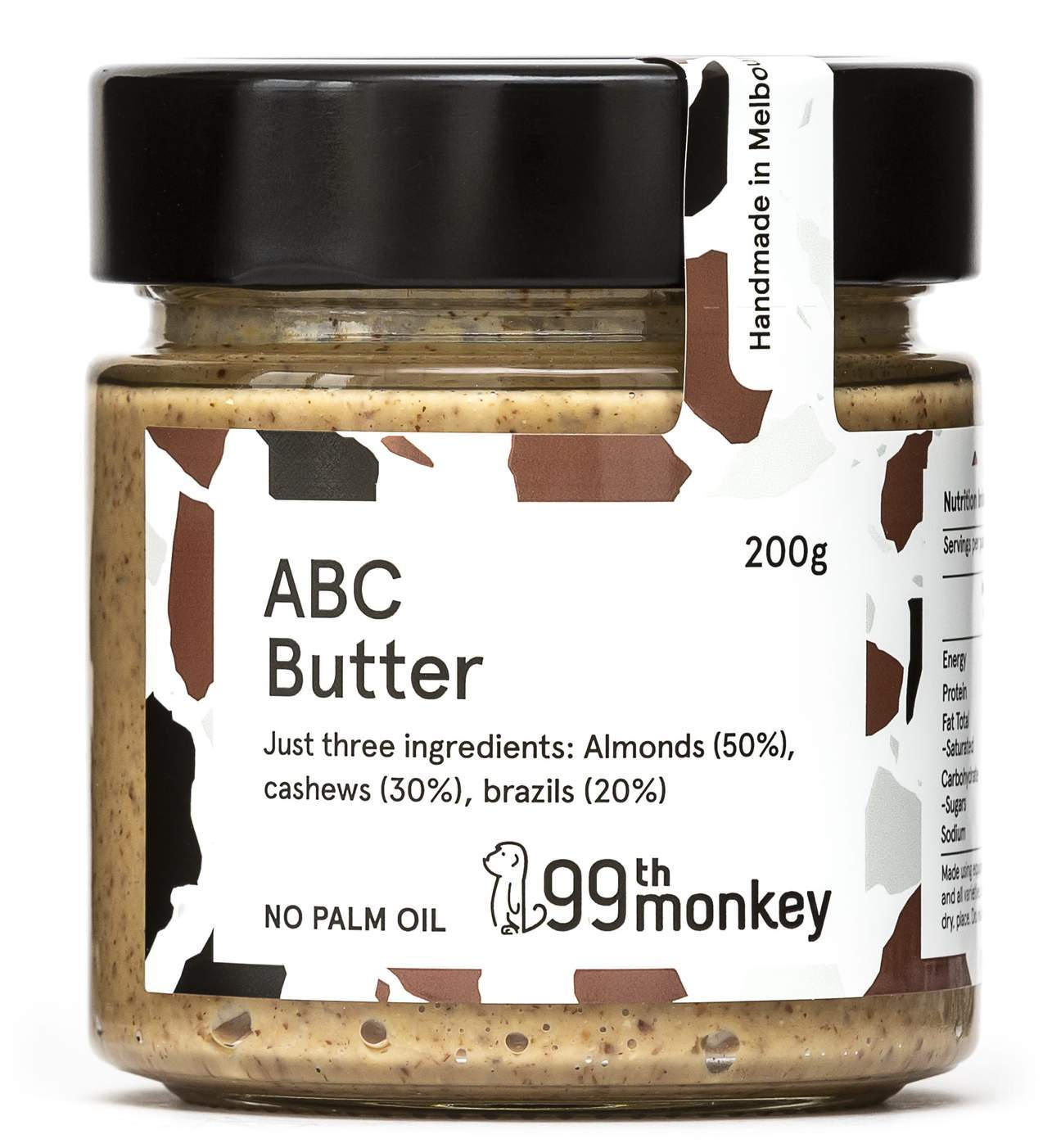 99 Monkey ABC Butter-Health Foods - Nut Butters-99th Monkey-200GM-Thrive Health and Nutrition