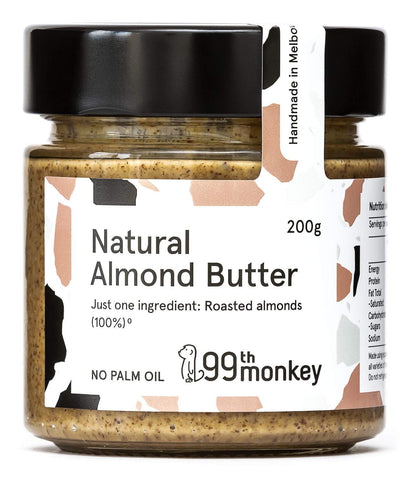 99 Monkey Natural Almond Butter