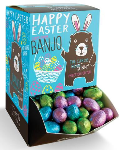 Banjo Carob Easter Eggs-Health Foods - Chocolate-The Carob Kichen-7.5G-Carob-Thrive Health and Nutrition