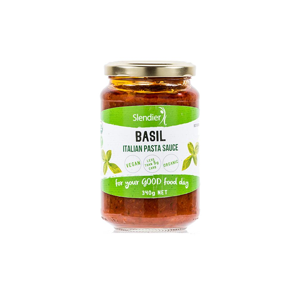 Basil Italian Sauce-Health Foods - Sauces And Seasoning-Slendierslim-340GM-Thrive Health and Nutrition