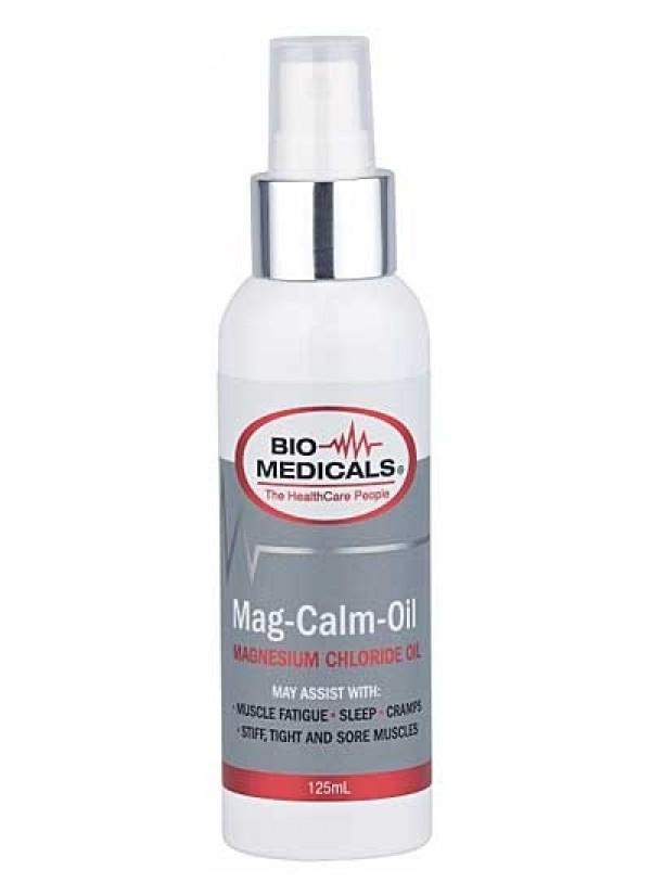 BioMedicals Mag Calm Oil-Vitamin and Minerals - Magnesium-BioMedicals-125ML-Thrive Health and Nutrition