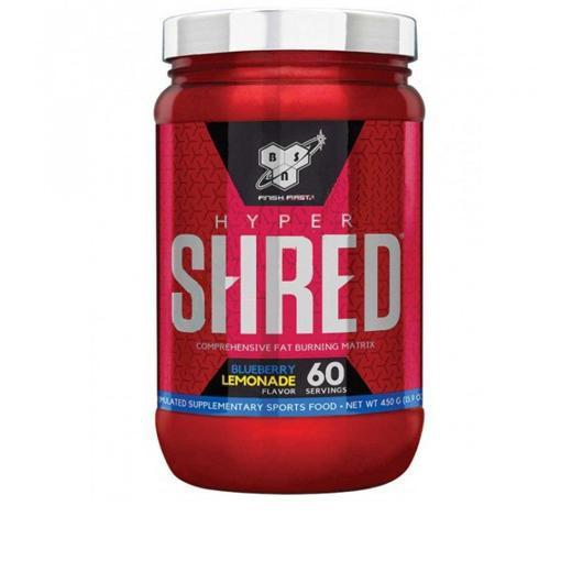 BSN Hypershred-Weight Loss - Fat Burners-BSN-60 Serves-Blue Lemonade-Thrive Health and Nutrition