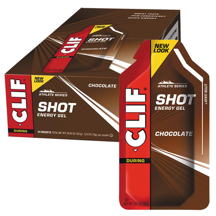 Clif Shot Energy Gel-Sports Nutrition - Endurance-CLIF-34g-CHOCOLATE-Thrive Health and Nutrition