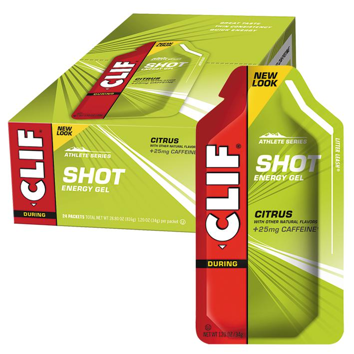 Clif Shot Energy Gel-Sports Nutrition - Endurance-CLIF-34g-CITRUS-Thrive Health and Nutrition