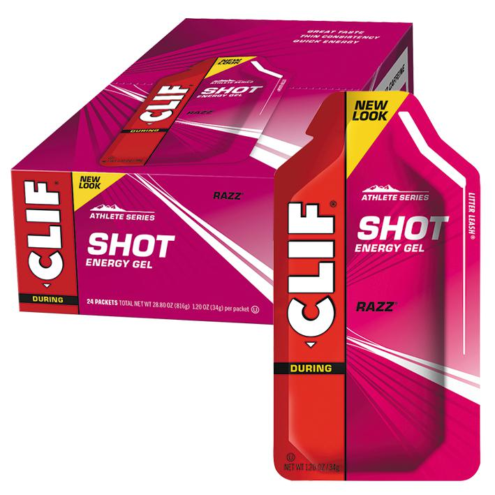Clif Shot Energy Gel-Sports Nutrition - Endurance-CLIF-34g-RASPBERRY-Thrive Health and Nutrition