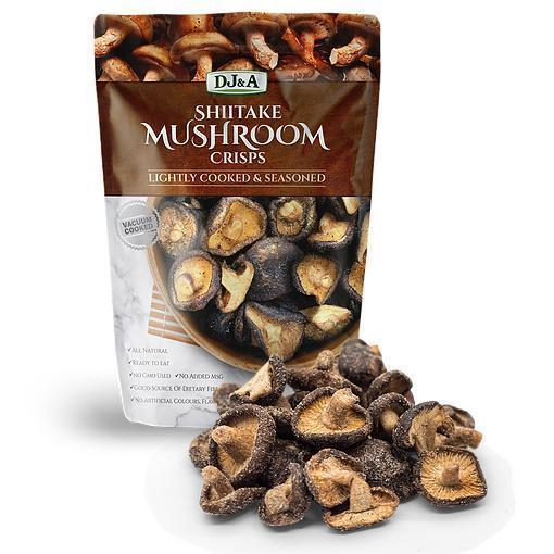DJA Shiitake Mushroom Crisps-Health Foods - Snacks-DJ and A-30G-ORIGINAL-Thrive Health and Nutrition